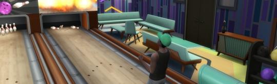 Die Sims 4 - Bowling-Abend-Accessoires - Mehr Freizeitspaß für die Sims mit dem Bowling-Abend-Accessoires