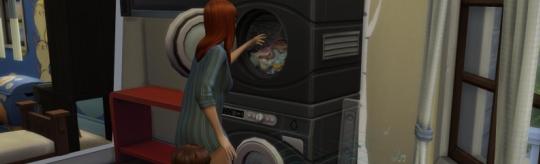 Die Sims 4 - Waschtag Accessoires - Die Sims bekommen den Waschag verpasst
