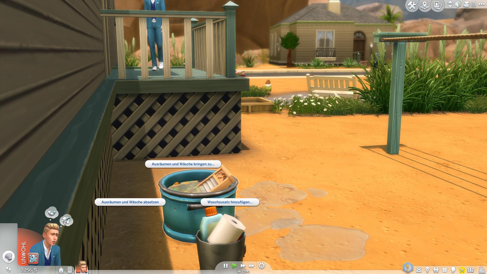 Die Sims 4: Screenshots zum Waschtag Accessoires