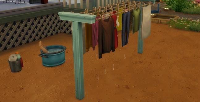 PC Test - Die Sims 4 - Waschtag Die Sims bekommen mit dieser Erweiterung endlich eine Waschmaschine und weitere Accessoires.