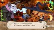 The Witch and the Hundred Knights: Screen zum Action-Rollenspiel.