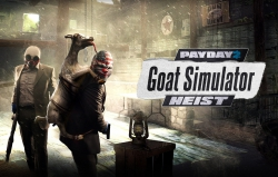 PayDay 2: PayDay 2 goes Goat Simulator