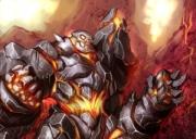 Storm the Gates: Iron Golem - Artwork zum Spiel.