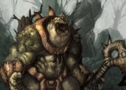 Storm the Gates: Pit Troll - Artwork zum Spiel.