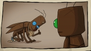 Journey of a Roach: Screen aus dem Adventure.