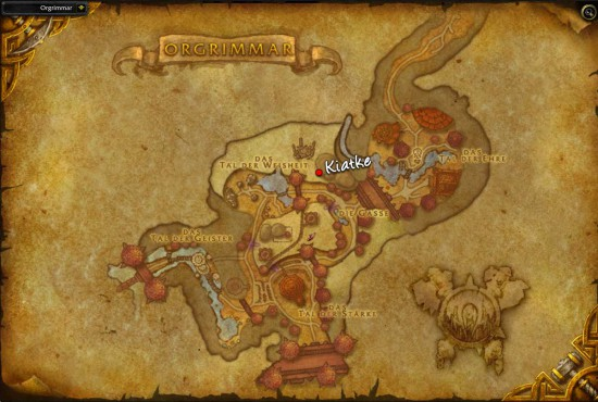 Dalaran Map on