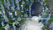 SimCity: Cities of Tomorrow: Screen zum Addon der Simulation.