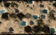 Conquest: Screen zum Echtzeitstrategie Titel.