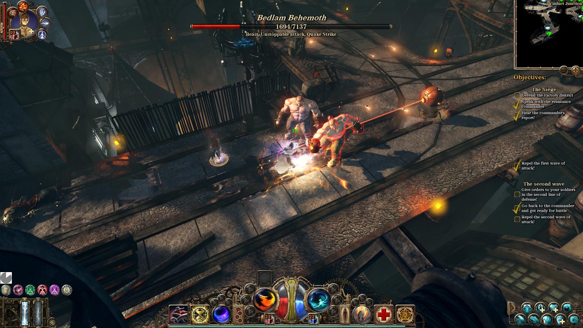 The Incredible Adventures of Van Helsing II: Pre-Order Screenshots