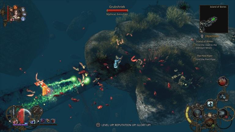 The Incredible Adventures of Van Helsing II: DLC Ink Hunt