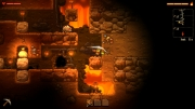 SteamWorld Dig: Screen zum Plattform-Bergbauabenteuer.