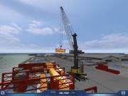 Kran-Simulator 2009: Screenshot aus der Demo zum Kran-Simulator 2009