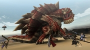 Monster Hunter Frontier G: PS Vita Screen zum Online-Rollenspiel.
