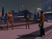Star Wars: Knights of the Old Republic: Screen zum Rollenspiel.