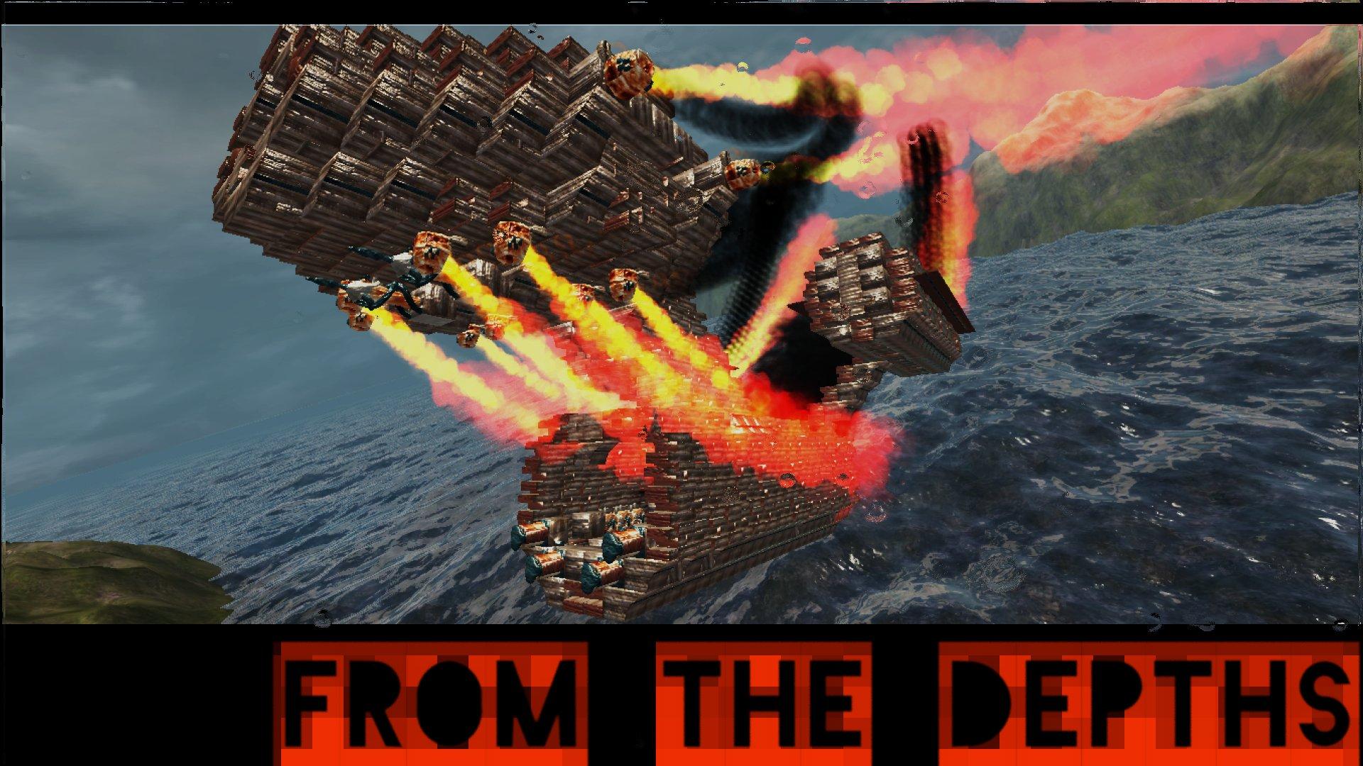 From The Depths: Screen zum Multiplayer Titel.
