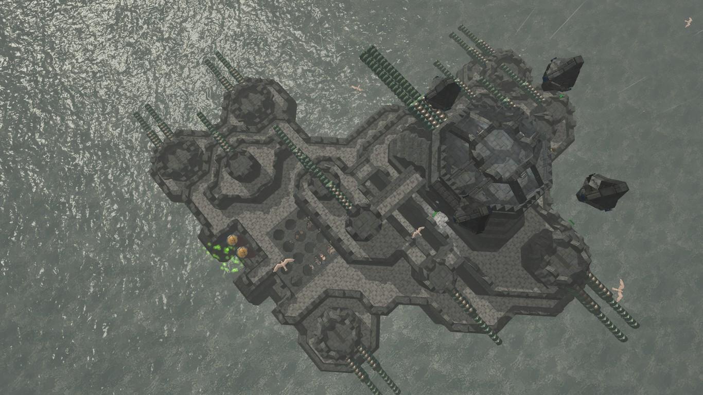 From The Depths: Screenshot zum Titel.