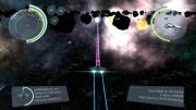 Drifter: Screen zum Weltraum Action Titel.