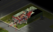 Project Zomboid: Screen zur Zombie RPG Simulation.
