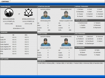 Franchise Hockey Manager: Screenshots zum Artikel