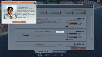 TransOcean: The Shipping Company: Screenshots zum Artikel