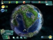 Imagine Earth: Screen zur Simulation.