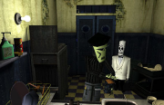 Grim Fandango: Screen zum Kult Adventure.
