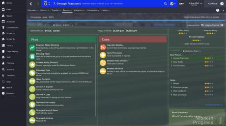 Football Manager 2015: Screen zum Spiel Football Manager 2015.