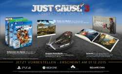 Just Cause 3: Inhalte der Collectors Edition vorgestellt