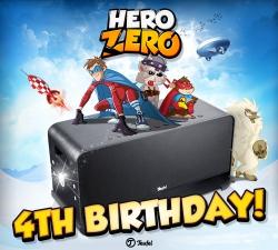 Hero Zero - Der Browserhit Hero Zero feiert 4-jähriges Jubiläum