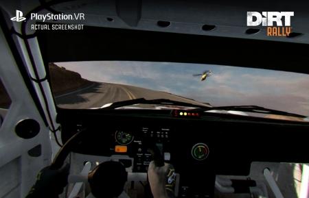 DiRT Rally: PS VR Support - Screenshots