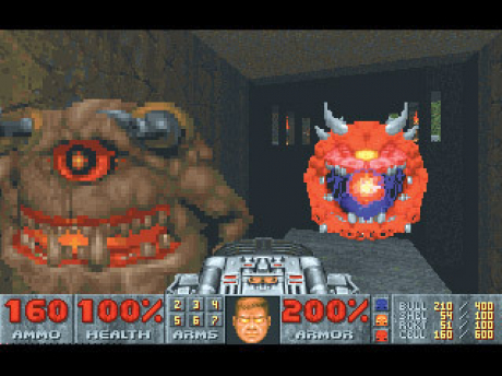 Doom II: Hell on Earth: Screen zum Spiel  Doom II: Hell on Earth.