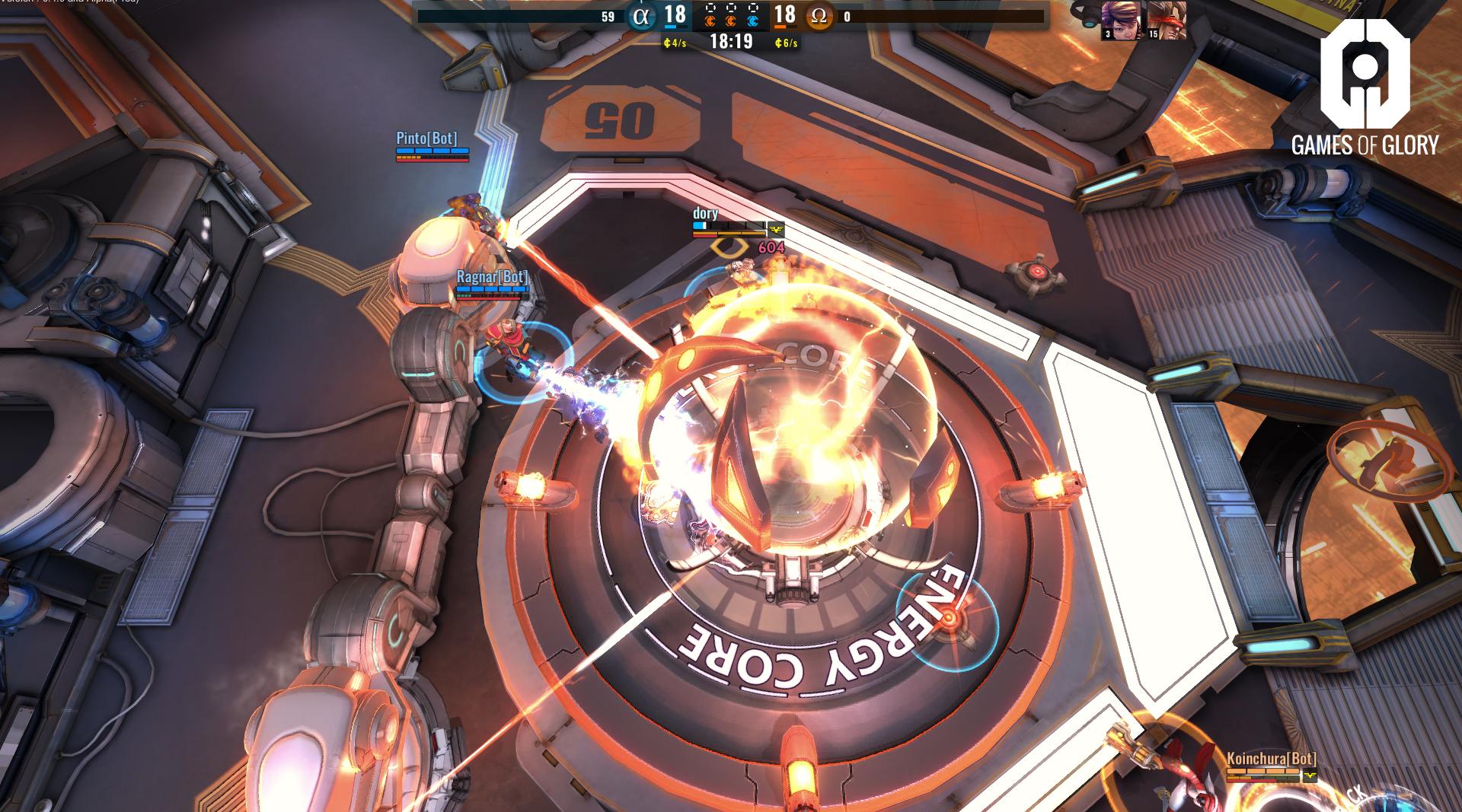 Games of Glory: Screenshot zum Titel.