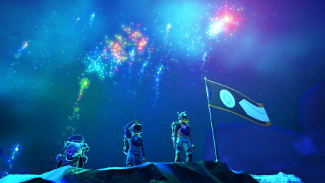 No Man's Sky: Screen zum Spiel No Man's Sky.