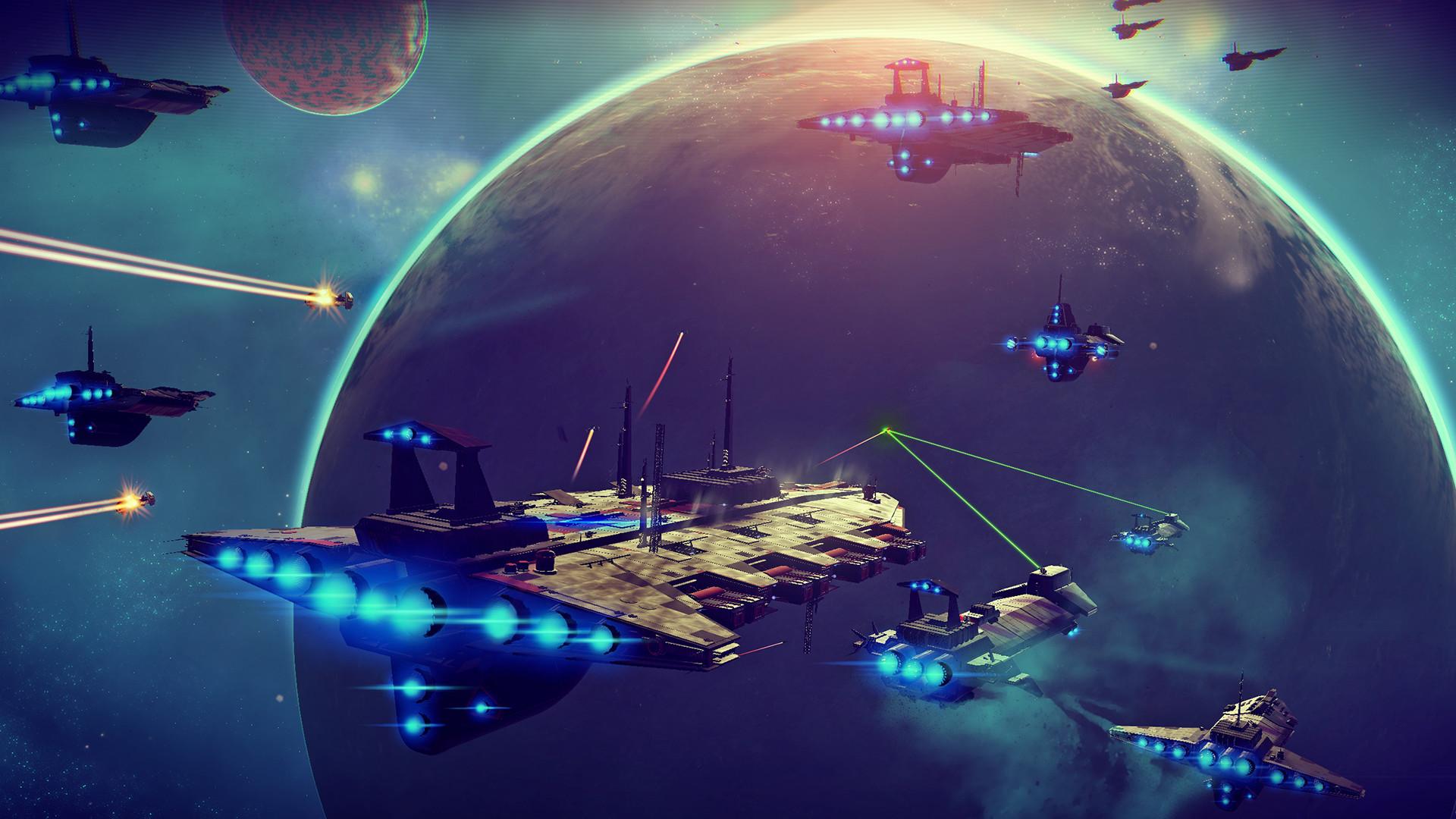 No Man's Sky: Screen zum Spiel.