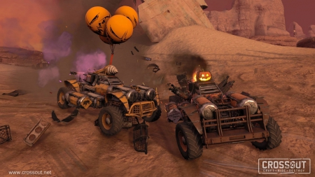 Crossout: Halloween Event
