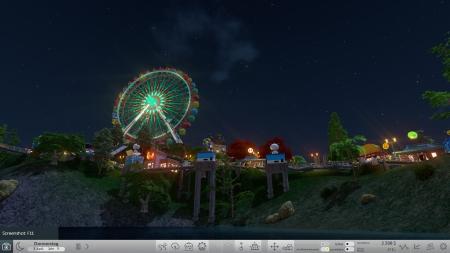 RollerCoaster Tycoon World: Screenshots aus dem Spiel