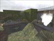 Wolfenstein: Enemy Territory: Hof Innenansicht