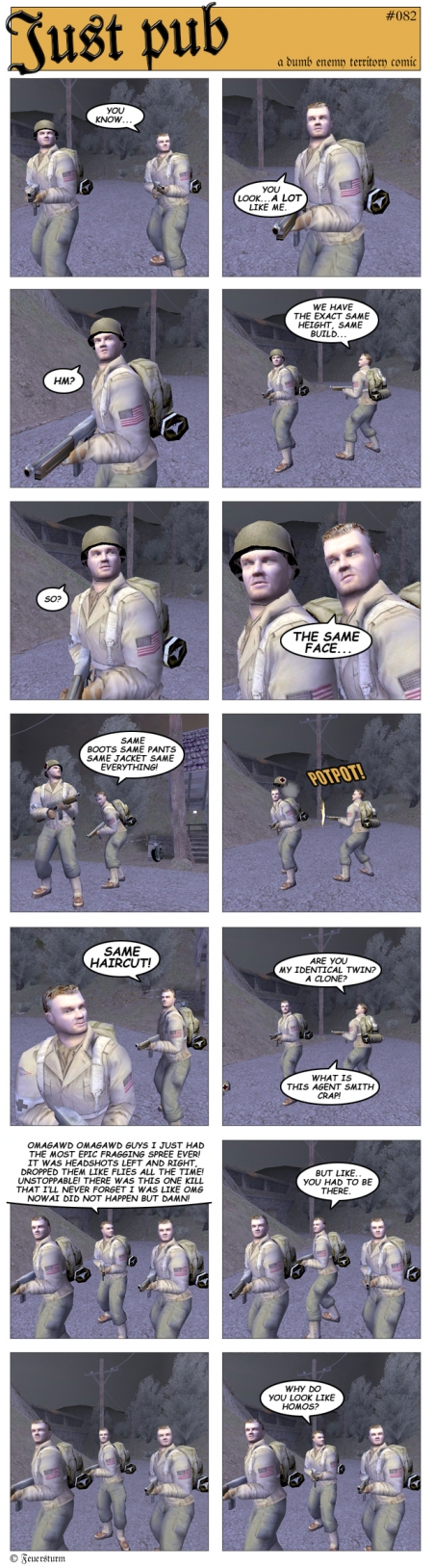 Wolfenstein: Enemy Territory: Just Pub/ET-Comics #82