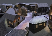 Wolfenstein: Enemy Territory: Screen aus der OBj Map UJE Mountain Attack.