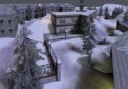 Wolfenstein: Enemy Territory: Screen aus der OBj Map UJE Mountain Attack.