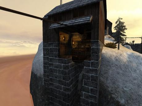 Wolfenstein: Enemy Territory: Screen zur Map Dingenskirchen.