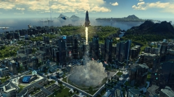 Anno 2205: Screen zum DLC Orbit.