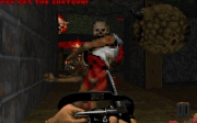 Final Doom: Screen zum Kult Shooter.