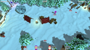Super Snow Fight: Screenshots zum Artikel