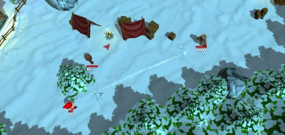 PC Vorschau - Super Snow Fight Schneeballschlachten im Winter sind dir zu nass und kalt? Probiere es doch mal im Winter mit der virtuellen Version und diesem Titel!