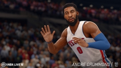 NBA Live 16: Screenshots September 15