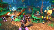 Dungeon Defenders II: Screenshot zum Titel.
