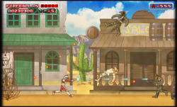 Saber Rider and the Star Sheriffs - The Video Game: Screenshots August 15 - Nintendo 3DS Version