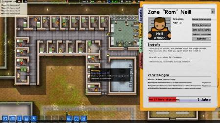 Prison Architect - Titel ab heute für die Nintendo Switch erhältlich