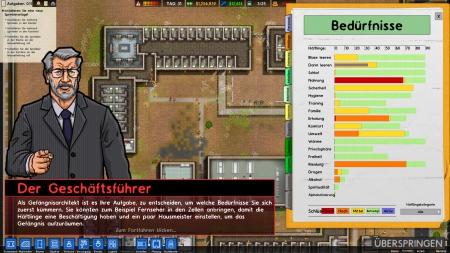 Prison Architect: Screenshots aus dem Spiel